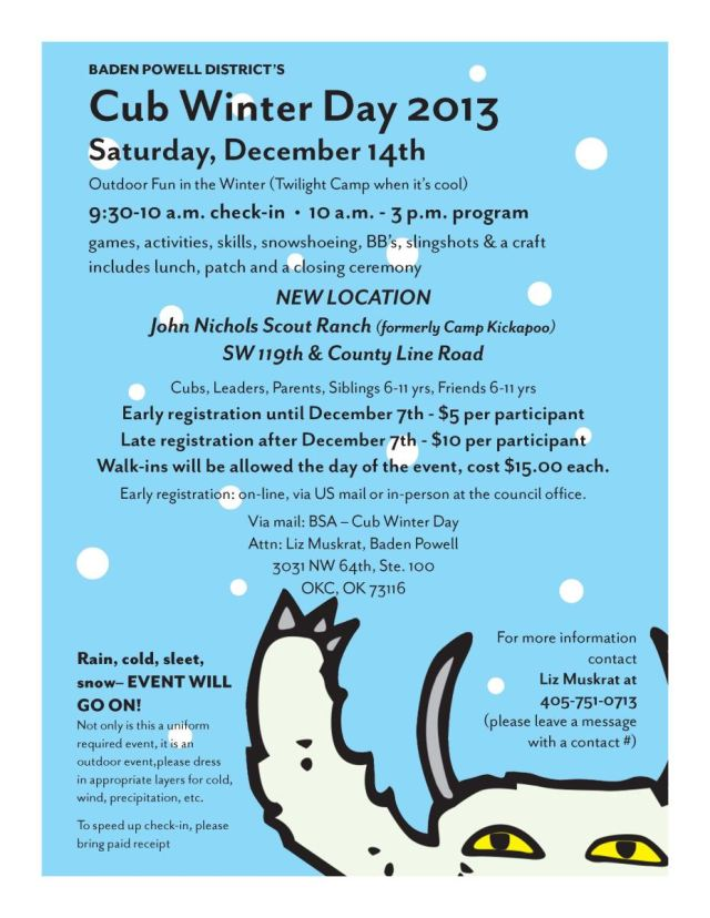 2013 BP Cub Winter Day